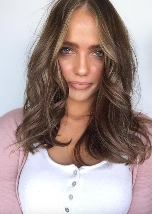 1. Ash Blonde Medium Hair