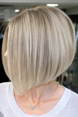 1. Side Parted Straight Bob Haircut