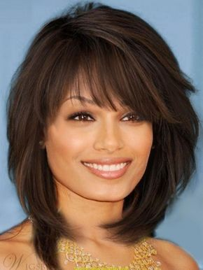 1. Sweet Layered Bob Hairstyle