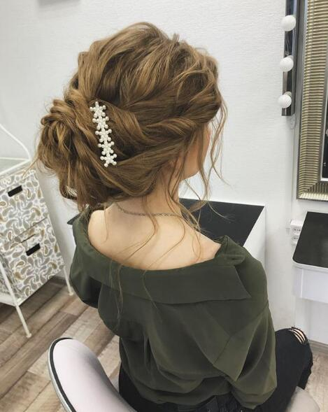 13. Beautiful Wedding Hair