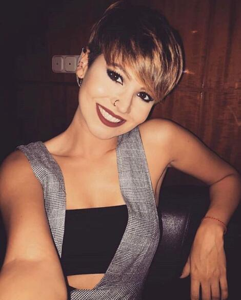 14. Beautiful Pixie with Smile