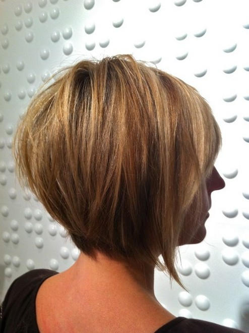 14. Layered Bob Hairstyle