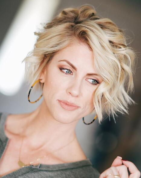 #19.Cute and Fun Short Hairstyles for Stylish Women