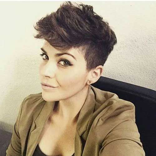 20. Pixie Cuts for Thick Hair