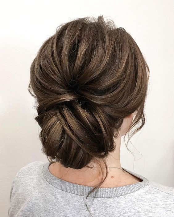 22. Gorgeous Updos for Bridesmaids
