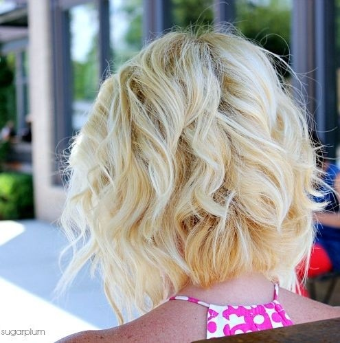 6. Blonde Curly Bob Hair Styles for Summer