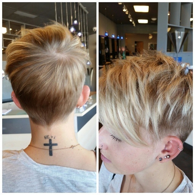 7. Layered Pixie Haircut with Side Bangs