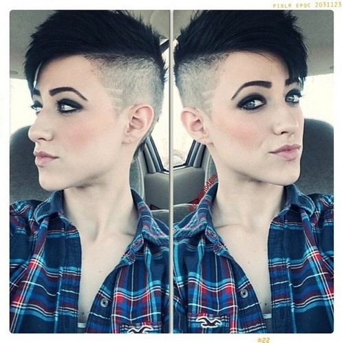 11. Pixie Hairstyles for Long Face Shape