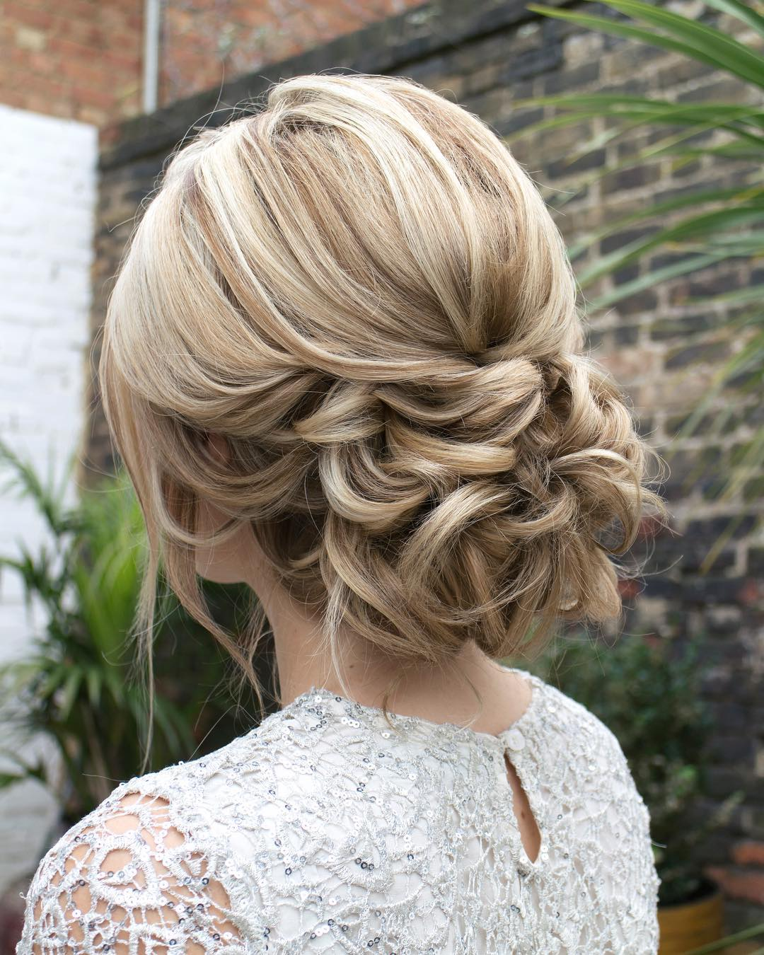 12. Low Loopy Updo
