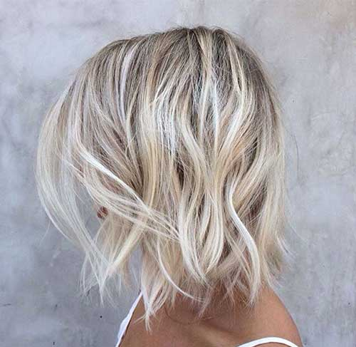 12. Messy Beach Bum Blonde Balayage