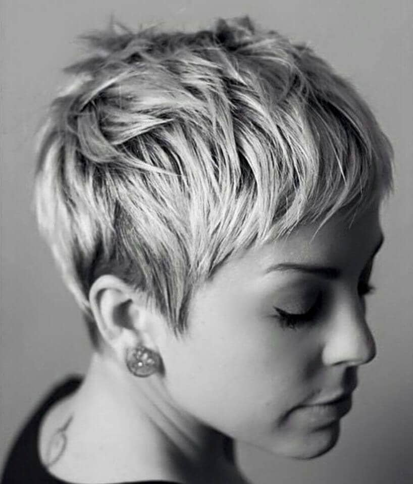 12. Short Pixie Cuts for a Feminine Look