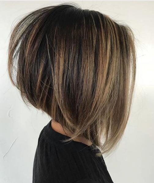 13. Side Views of Angled Bob