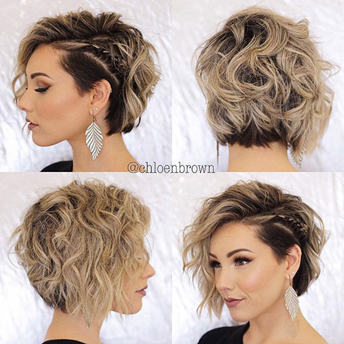 14. Short Braid Hair