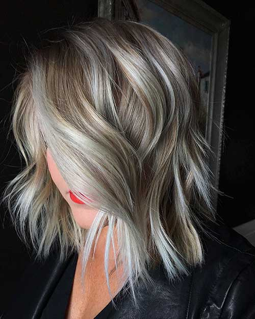 17. Womens Short Blonde Hairstyle