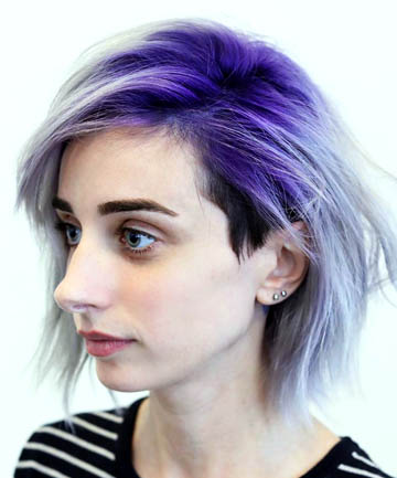 18. Purple Ombre With an Undercut