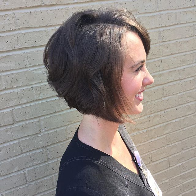 2. Angled Bob Hairstyles For Fine Hair