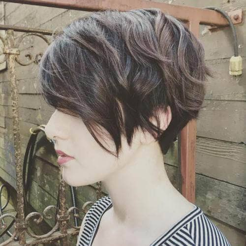 2. Uneven Sections for an Edgy Look