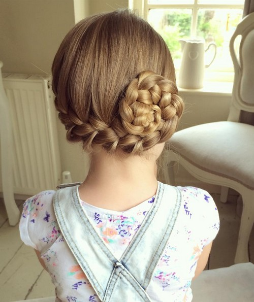 22. Pin Up Side French Braid