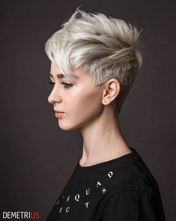 23. Blonde Pixie Hair