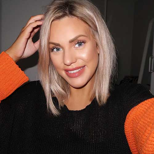 23. Hairstyle For Short Blonde Hair