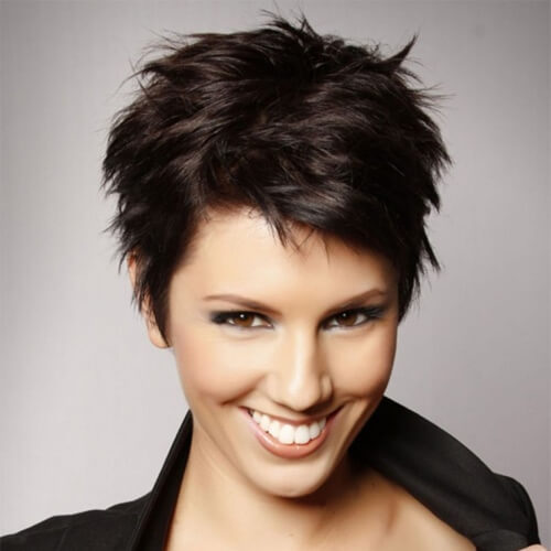 5. Short Spiky Haircuts for Thick Hair