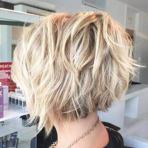 6. Short Layered Haircuts for Thick Hair