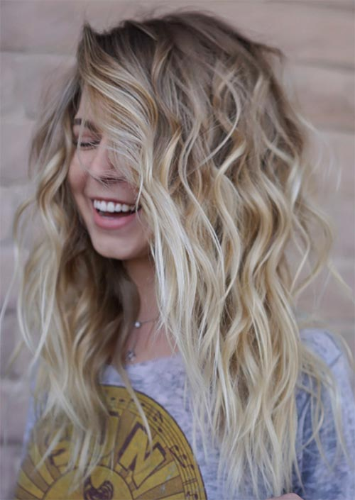 Boho Blonde Medium Hair