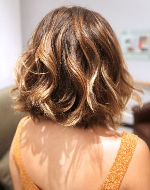 13. Short Hair Back View