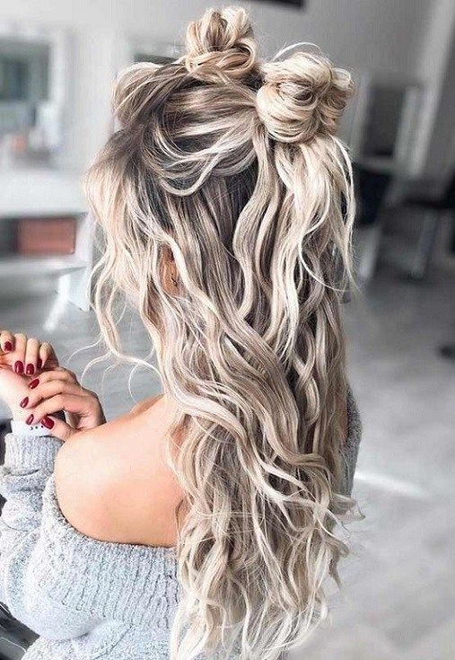 17. Long Wavy Hairstyles for Women 2019