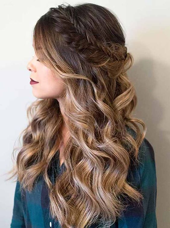 Prom Hairstyles for Round Faces 2019
