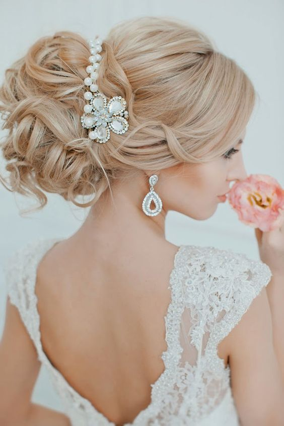 Dropping Wedding Hairstyles