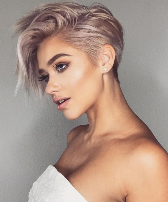 2019 Short Pixie Haircuts and Hairstyles