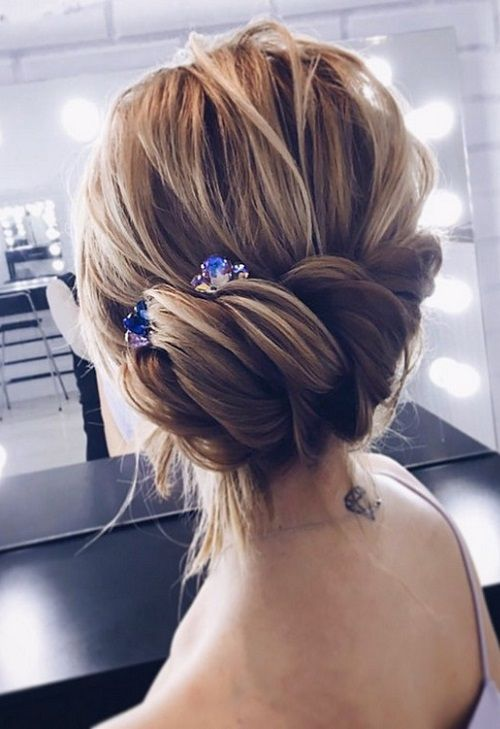 Amazing Updo Wedding Hairstyles for 2018