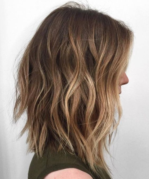 Balayage Hairstyles for Shoulder Length Hair 2019
