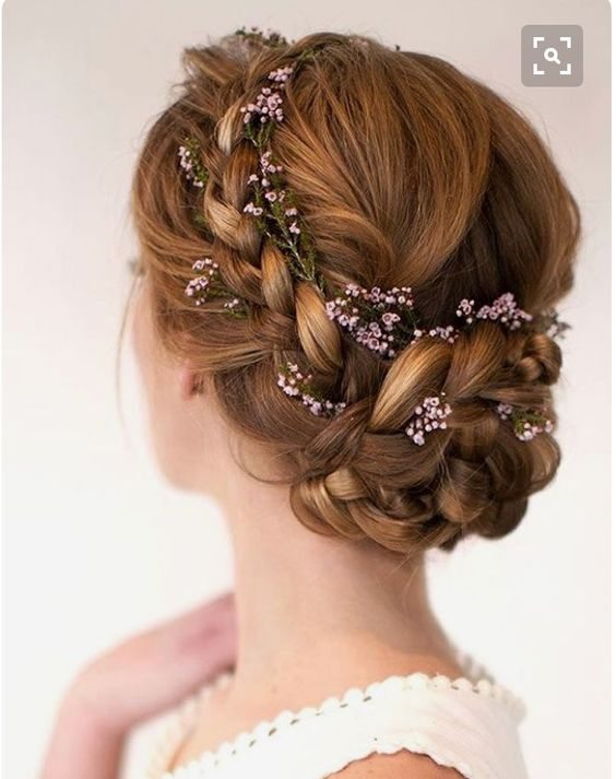 Beautiful & romantic hairstyle