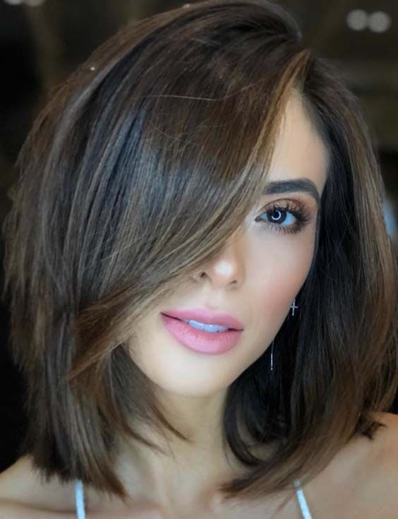 Best Medium Length Haircuts for Thick Hair for 2019