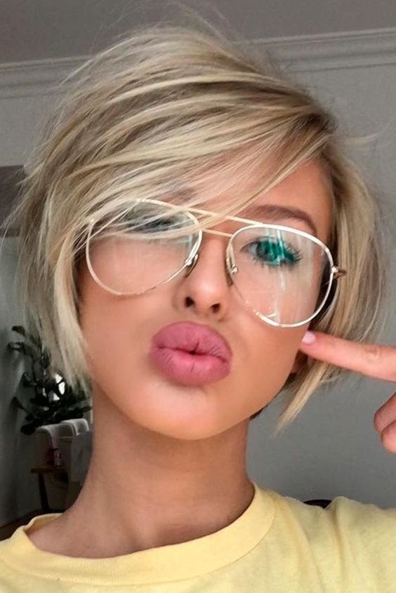 Bob Short Hairstyles For Round Faces