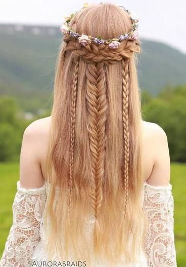 Boho Hairstyles - Coolest Bohemian Hair Options
