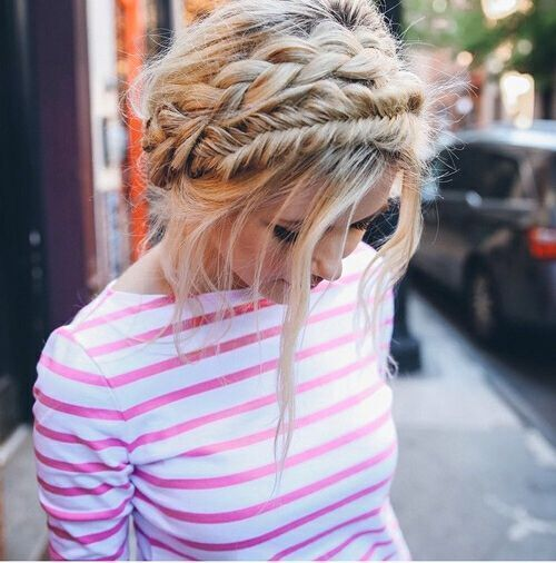 Boho Hairstyles with Braids