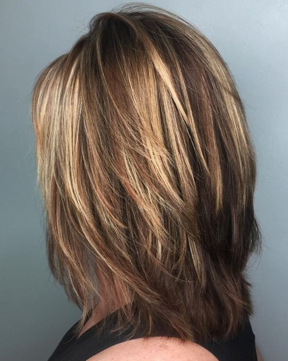 Brightest Medium Layered Haircuts