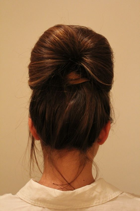 Cute easy updo for work