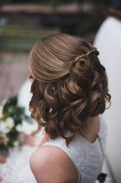 Gorgeous Prom Hairstyles for Girls With Short Hair