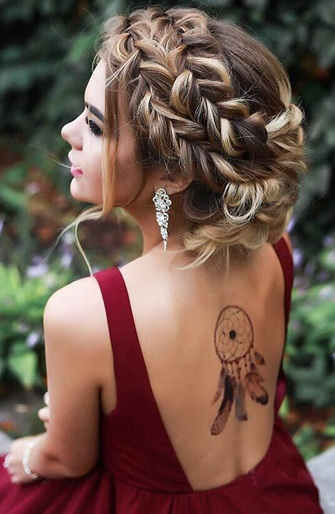 Gorgeous Prom Hairstyles for Long Hair 2019