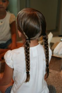 Hairstyles for Girls Twist Back into Braids