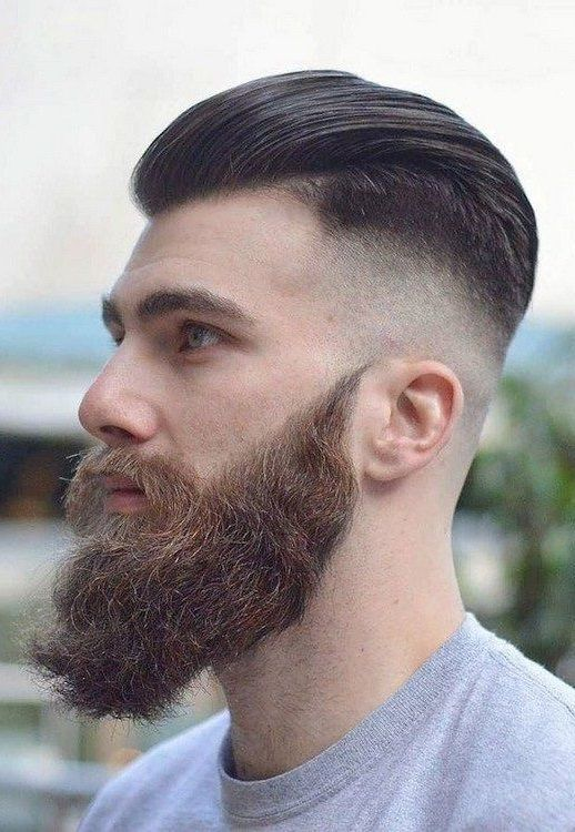 Mens Hairstyles with Beard 2019