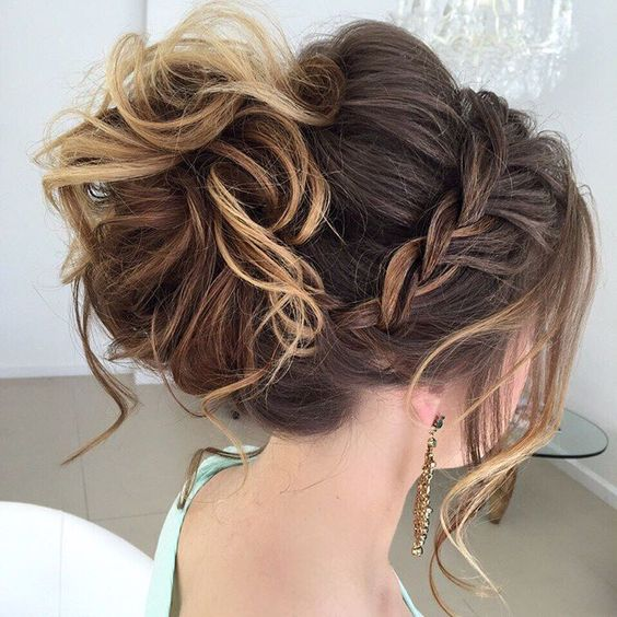 Most Delightful Prom Updos for Long Hair