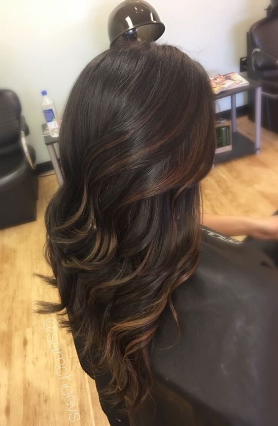 Need long layers for this hairstyle