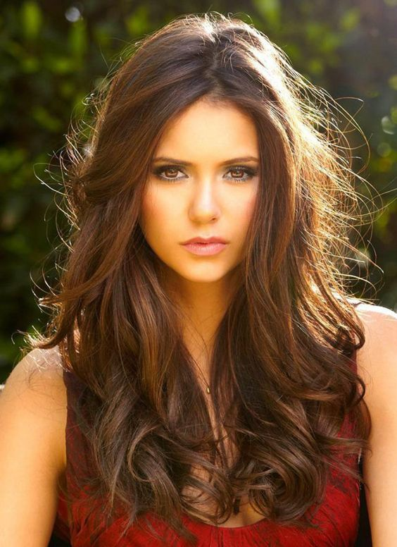 Nina Dobrev Lace Front Synthetic Wigs