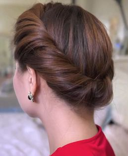 Quick Updo Hairstyle for Long Hair