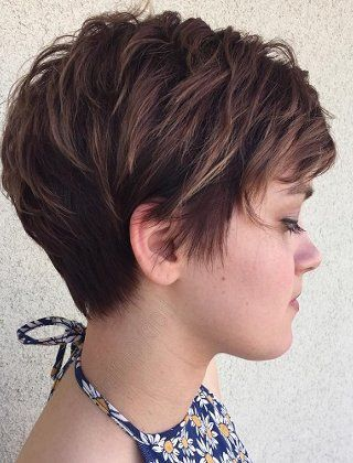 Short Shaggy, Spiky, Edgy Pixie Cuts and Hairstyles